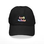 Deaf Pride Pastel Black Cap