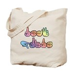 Deaf Pride Pastel Tote Bag