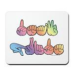 Deaf Pride Pastel Mousepad