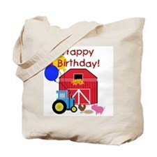 Farm Happy Birthday Tote Bag