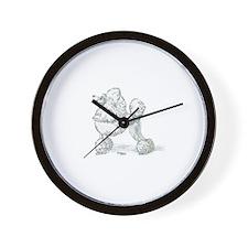 Unique Clip Wall Clock