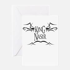 King Nasir Greeting Card