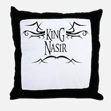 King Nasir Throw Pillow