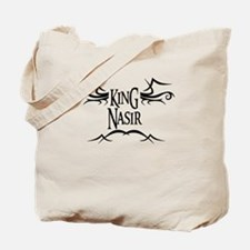 King Nasir Tote Bag