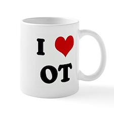I Love OT Small Mug