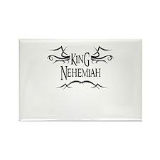King Nehemiah Rectangle Magnet