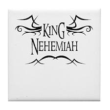 King Nehemiah Tile Coaster