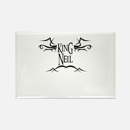 King Neil Rectangle Magnet