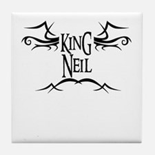 King Neil Tile Coaster
