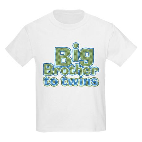 Big Brother to Twins Kids Light T-Shirt