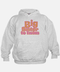 Big Sister to Twins Hoody