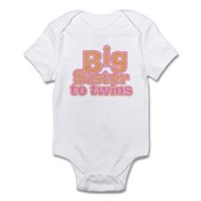 Big Sister to Twins Infant Bodysuit
