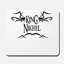 King Nikhil Mousepad