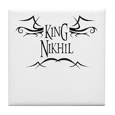 King Nikhil Tile Coaster