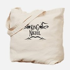 King Nikhil Tote Bag