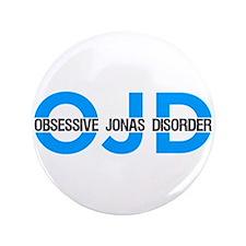 "OJD: Obessive Jonas Disorder 3.5"" Button"