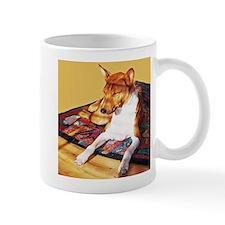 Sunning Basenji Mug