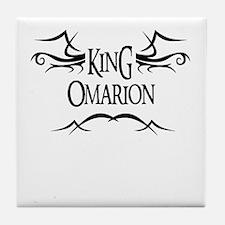 King Omarion Tile Coaster