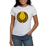 Gold with black Laurel Women's T-Shirt