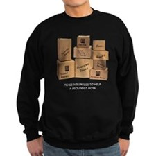 Geologist Moving Wisdom Sweatshirt