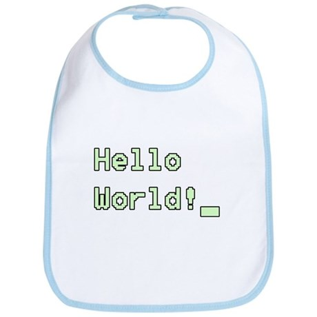 Hello World! Bib
