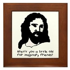 "Offensive Apparel's ""Jesus Imaginary Friend"" Frame"