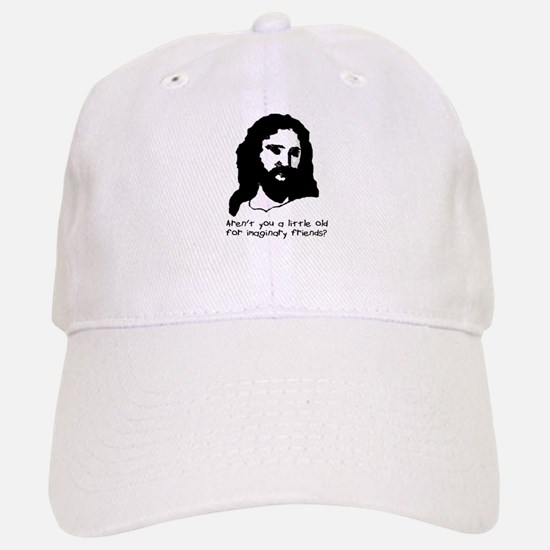 "Offensive Apparel's ""Jesus Imaginary Friend"" Baseball Baseball Cap"