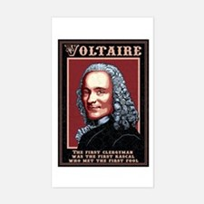 Voltaire -The First Rectangle Decal