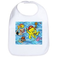 The Calamari Kid Bib