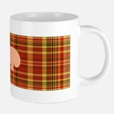 Pizza Plaid Mushroom 20 oz Ceramic Mega Mug