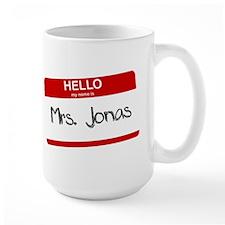 Hello, My name is Mrs. Jonas Mug