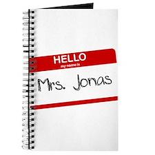 Hello, My name is Mrs. Jonas Journal