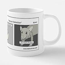 haikucircus_evolution.jpg 20 oz Ceramic Mega Mug