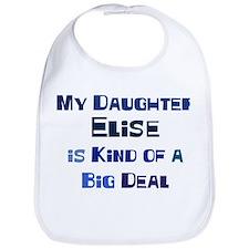 My Daughter Elise Bib