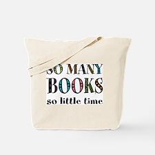 """So Many Books"" Tote Bag"