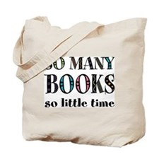 """So Many Books"" Tote Bag"