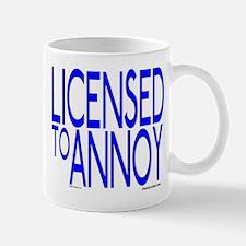 Licensed to Annoy Mug