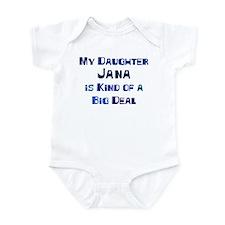 My Daughter Jana Infant Bodysuit