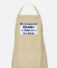My Daughter Claire BBQ Apron