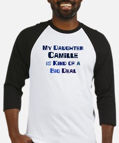 My Daughter Camille Baseball Jersey