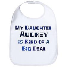 My Daughter Audrey Bib