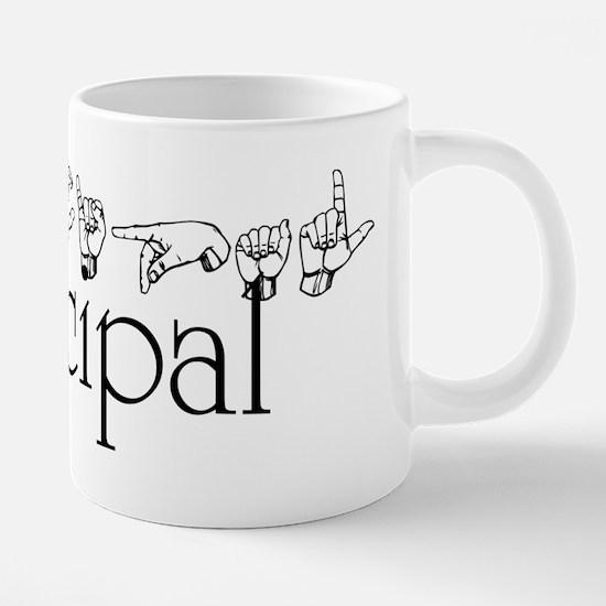 Principal 20 oz Ceramic Mega Mug