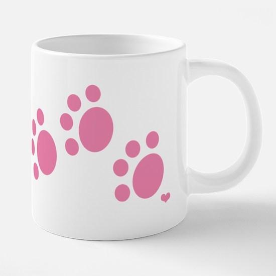 pink_paw_10_trans.png 20 oz Ceramic Mega Mug