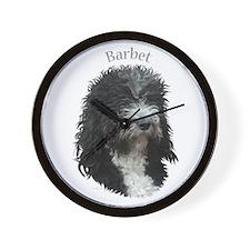 Barbet Wall Clock