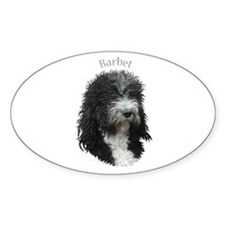Barbet Oval Decal