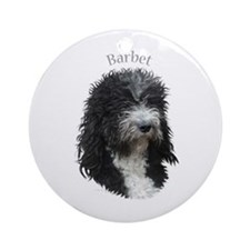 Barbet Ornament (Round)