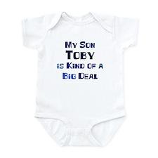 My Son Toby Infant Bodysuit