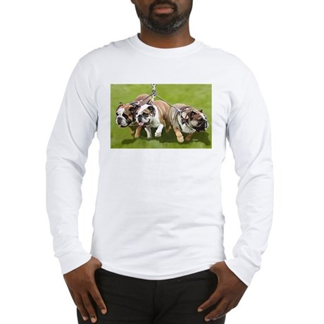 Bulldogs Butts Coming and Going Long Sleeve T-Shir