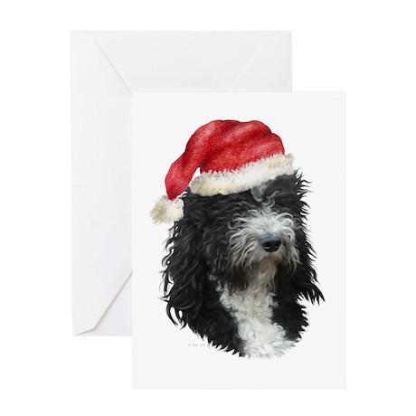 Barbet Christmas Greeting Card