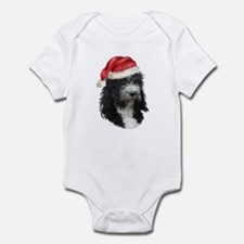 Barbet Christmas Infant Bodysuit